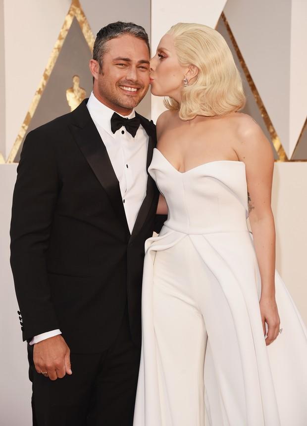 Taylor Kinney e Lady Gaga (Foto: Getty Images)