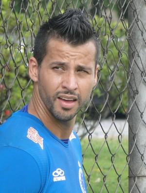 Fábio, goleiro do Cruzeiro (Foto: Valeska Silva / Globoesporte.com)