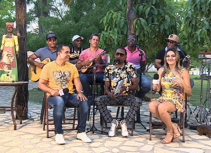 Mania de Ser, samba de raiz (Foto: Reprodução Tv Sergipe)