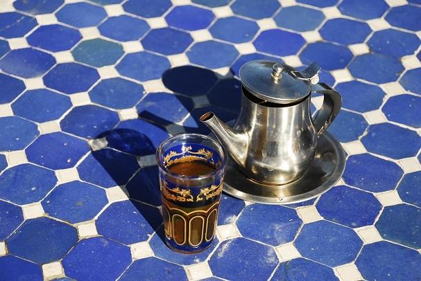 Chá verde marroquino deve ser adoçado com mel  (Foto: Divulgação)