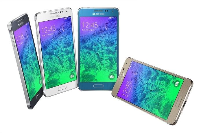 Galaxy Alpha é um novo smartphone da Samsung equipado com corpo metálico e tela HD (Foto: Divulgação/Samsung)