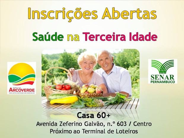 Curso de saúde na terceira idade oferta 30 vagas em Arcoverde (Foto: Divulgação/Assessoria)