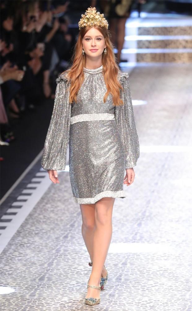 Marina Ruy Barbosa desfilou na última temporada de moda (Foto: Reprodução / Instagram)