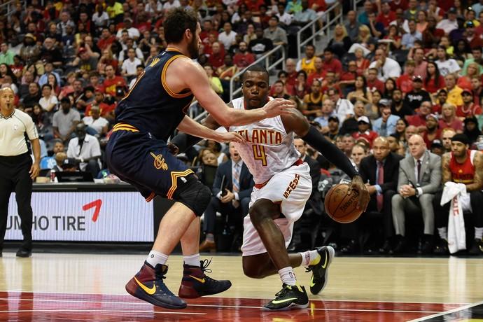 Atlanta Hawks x Cleveland Cavaliers  - Jogo 4 (Foto: Dale Zanine / USA Today / Reuters)