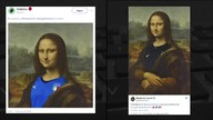 Museu do Louvre faz homenagem à seleção francesa e gera polêmica