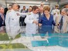 Dilma inaugura no Rio estaleiro que construirá submarino nuclear