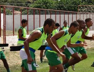 Beto já treinou com o elenco no Estádio Tenente Luiz Gonzaga, em Parnamirim (Foto: Gabriel Peres/Divulgação)
