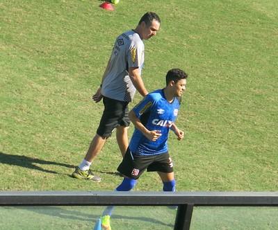 Eder Luis se prepara para retornar ao Vasco ainda no primeiro turno (Foto: Raphael Zarko)
