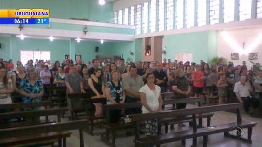 Missa lembra jornalista gaúcho morto em acidente da Chapecoense