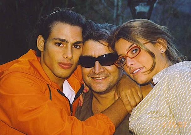 Cauã Reymond, Sergio Mattos e Alinne Moraes (Foto: Divulgação)