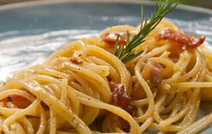 Como fazer espaguete à carbonara: receita da Carolina Ferraz