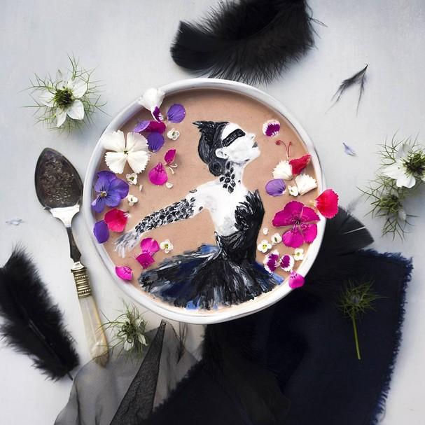 Hazel Zakariya é uma artista da Nova Zelândia (Foto: Instagram/Reprodução)