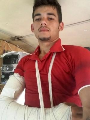 Piloto Israel de Araújo deixa hospital após se ferir em globo da morte, em Goiânia (Foto: Arquivo pessoal/ Israel de Araújo)