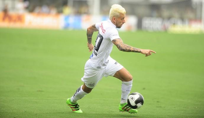 Lucas Lima Santos Corinthians (Foto: Marcos Ribolli)