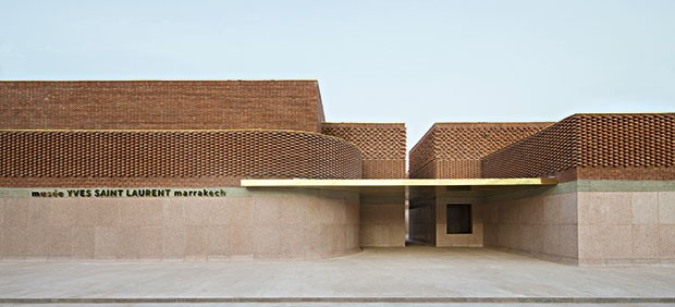 A fachada do Museu YSL, de Marrakech, que será inaugurado em outubro (Foto: Divulgação)