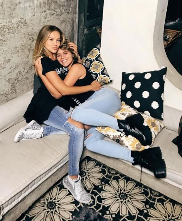 Gabi e Isabella: amigas-irmãs (Foto: Reprodução Instagram)