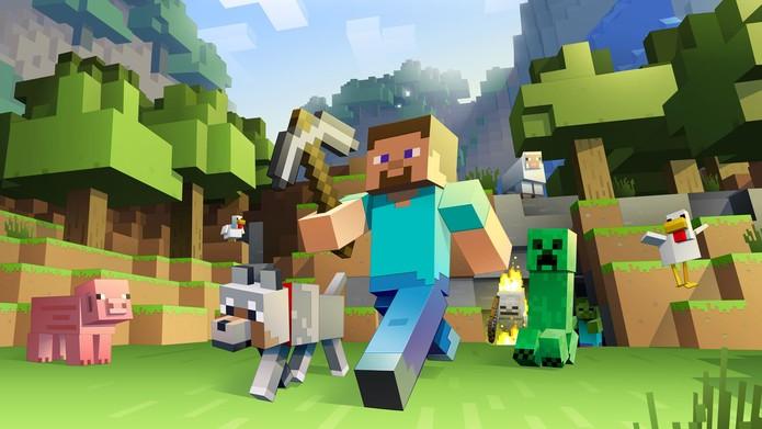Minecraft chega ao Wii U (Foto: Divulgação/Microsoft)