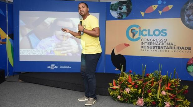 Hamilton Silva, cofundador do Saladorama (Foto: Sebrae MT)