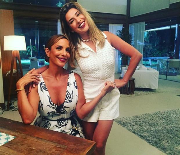 Superbonita: Ivete Sangalo e Fernanda Paes Leme (Foto: Reproduo/Instagram)