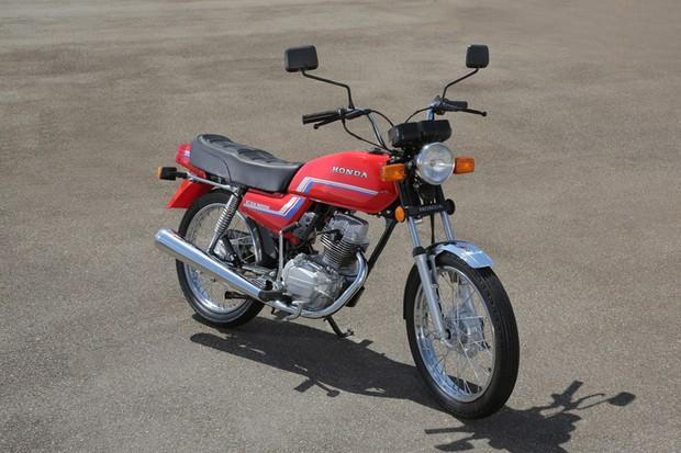 Honda CG 125 1983 (Foto: Divulgação)