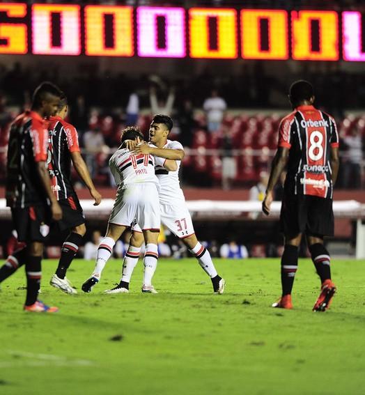 Três gols,  três pontos (Marcos Ribolli)
