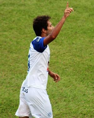 Elton, atacante Monte Azul (Foto: Divulgação / Atlético Monte Azul)