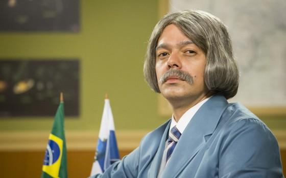 Bruno Mazzeo caracterizado como o Professor Raimundo; nova temporada do programa estreia dia 12 (Foto: João Miguel Jr/ TV Globo)