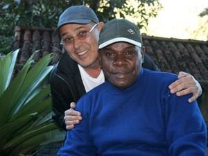 Evandro Jr. e Emilio Santiago (Foto: Arquivo Pessoal)
