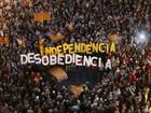 Manifestação na Catalunha contesta investigação sobre referendo de 2014