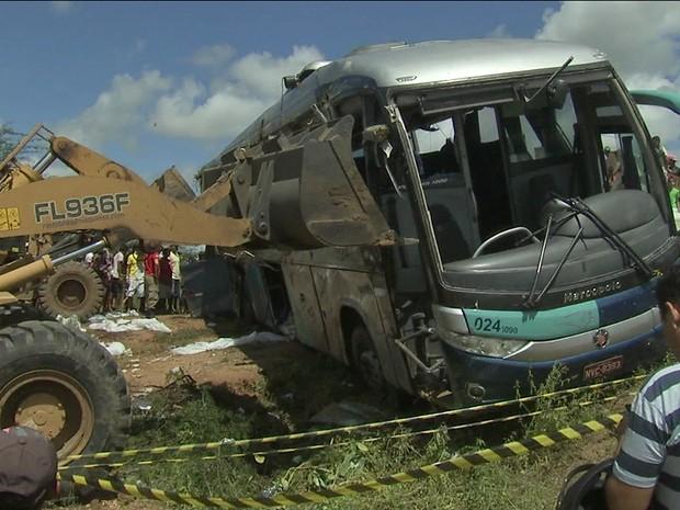 Tragédia no Ceará (Foto: GloboNews)