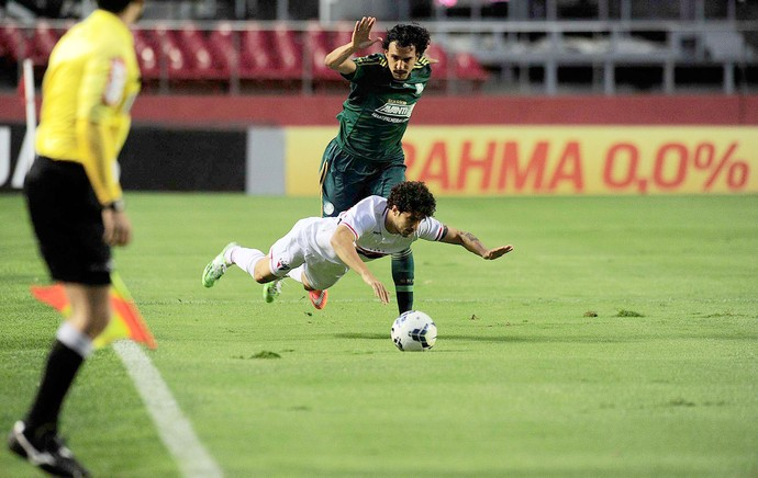 São Paulo X Palmeiras - Morumbi (Foto: Marcos Ribolli)