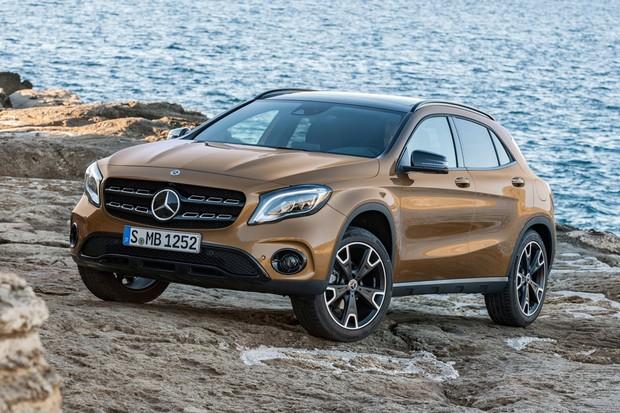 Mercedes-Benz GLA reestilizado (Foto: Divulgação)