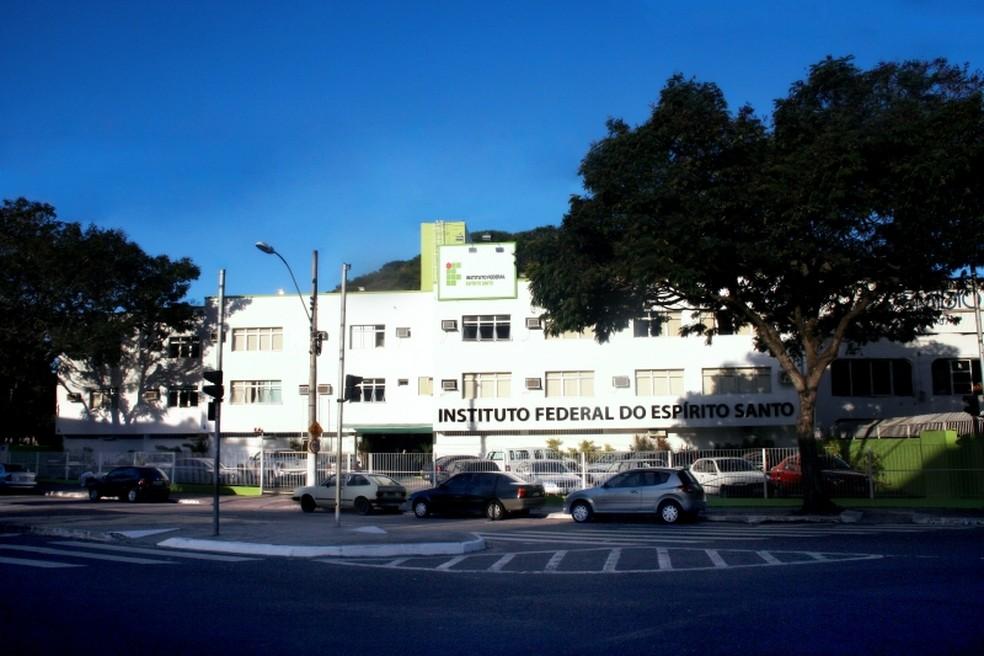 Reitoria do Ifes em Vitória (Foto: Divulgação/Ifes)