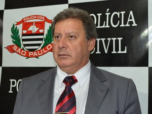 José Henrique Ventura, delegado seccional de Limeira (Foto: Fernada Zanetti/G1)
