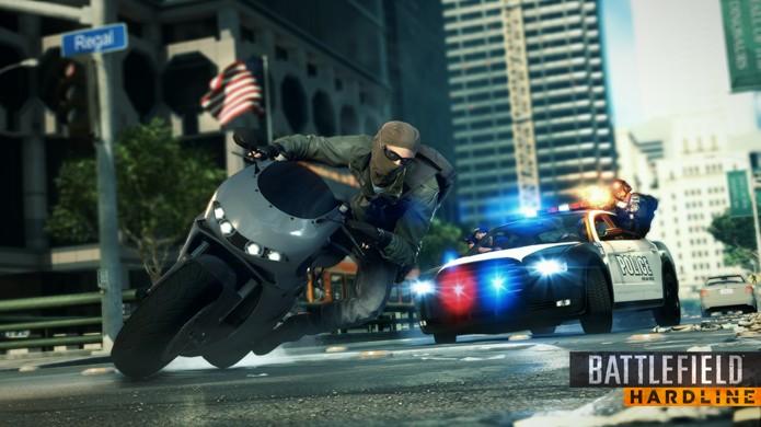 Battlefield Hardline estará 10% mais rápido em sua versão final (Foto: GameSpot)