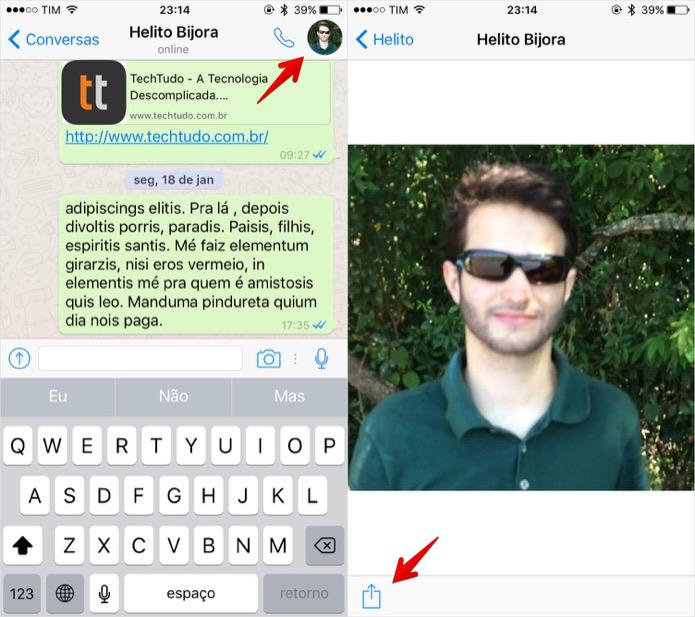 Whatsapp Como Visualizar E Salvar A Foto De Perfil Dos Seus
