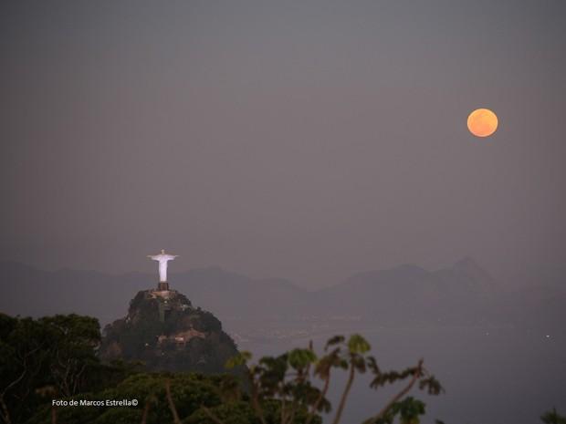 Superlua no Rio (Foto: Marcos Estrella/Globo)