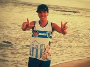 Torcedor de 18 anos foi morto após jogo entre NH e Aimoré (Foto: Reprodução)