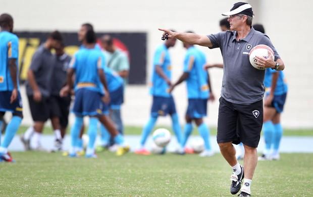 Oswaldo de Oliveira treino botafogo (Foto: Alexandre Cassiano / Agencia O Globo)