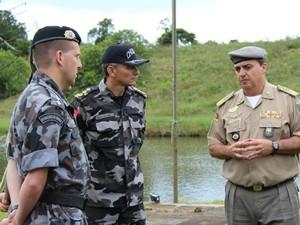 Comandante-geral da BM avalia como bem sucedida a estratégia da corporação nos protestos (Foto: Samuel Cardoso/BM)