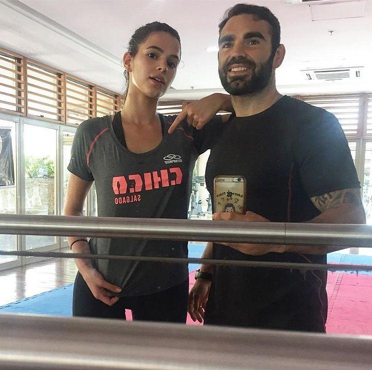 Bruna Marquezine e Chico Salgado (Foto: Reprodução/Instagram)