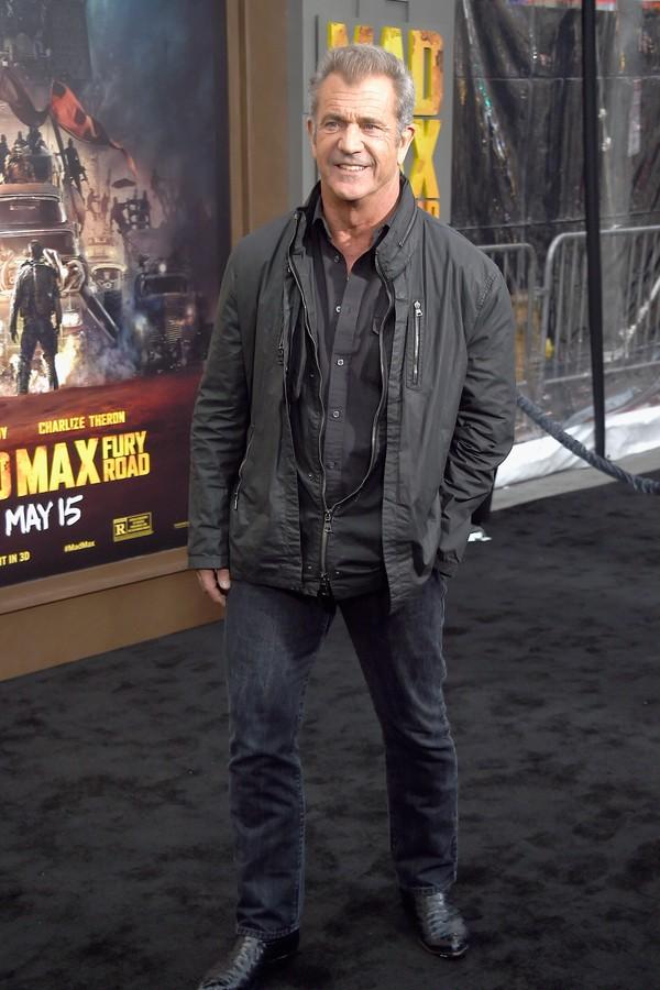 Mel Gibson não deixou barato para um jornalista (Foto: Getty Images)
