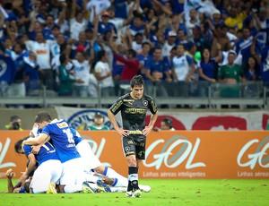 Cruzeiro comemoração gol Botafogo (Foto: Cristiane Mattos / Agência Estado)