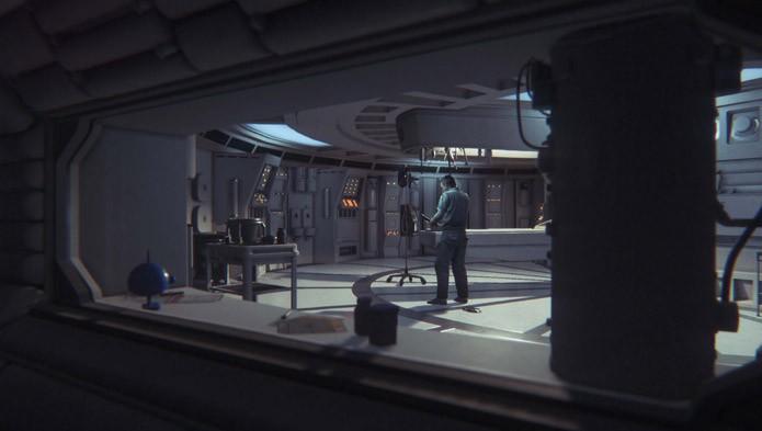 Finalmente, a série Aliens tem um jogo com visual caprichado (Foto: Divulgação)