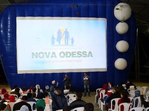 'Cine Criança' em Nova Odessa 2016 (Foto: Imprensa/Diretoria de Cultura e Turismo)