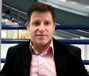 Ramón Menezes auxiliar-técnico Joinville (Foto: Karen Couto/RBS TV)