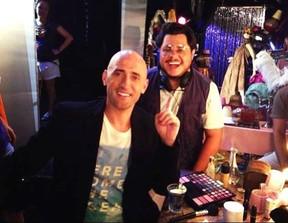 Marcus Majella com Paulo Gustavo (Foto: Divulgação/Divulgação)