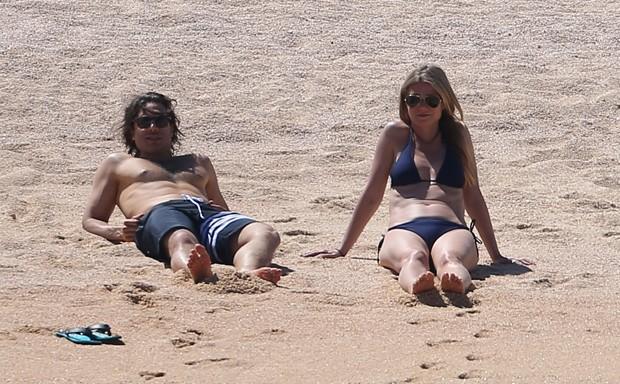 Gwyneth Paltrow e Brad Falchuk (Foto: GrosbyGroup)