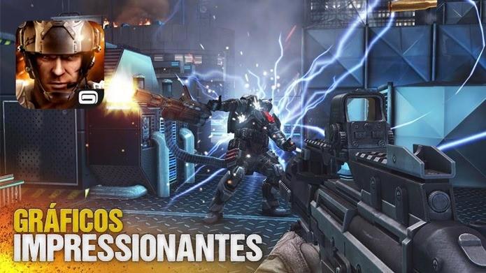 Modern Combat 5 agora é um jogo grátis para baixar e jogar (Foto: Divulgação)