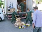 Três ataques a caminhões de cargas são registrados em uma semana no Rio
